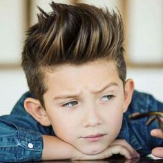 Boys Quiff Hairstyles - Best Boys Haircuts: Cool Hairstyles For Little Boys and Tween Kids Trendy Boys Haircuts, Hairstyles For Teenage Guys, Older Mens Hairstyles, Little Boy Hairstyles, Baby Boy Haircuts, Quiff Hairstyles, Cool Hairstyles, Short Haircuts, Hipster Hairstyles