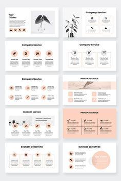 Modern Business Plan PowerPoint Template, Editable power