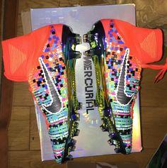 Nike Football X EA Sports Mercurial Superfly FG Cramoisi total Code du produit: 852512-804
