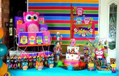 Owls Birthday Party Ideas | Photo 5 of 22 | Catch My Party
