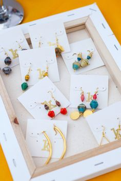 Kicheko earrings at the DC Meet Market