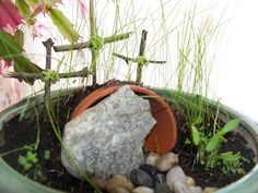 Resurrection Garden - Easter Activity for Sunday school, bible crafts or religious crafts for children