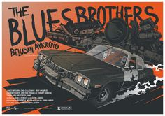 Movie Poster: The Blues Brothers by Krzysztof Nowak
