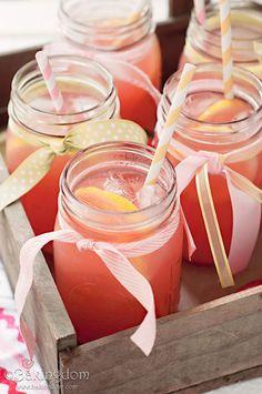 outdoor wedding signature drink