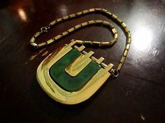 Vintage Lanvin Lucite Necklace