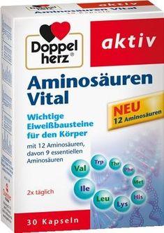 DOPPELHERZ amino acids vital capsules 30 pc UK