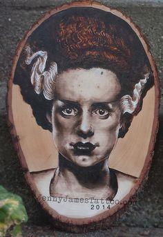 Bride of Frankenstein  https://www.etsy.com/shop/TheBoneCellar