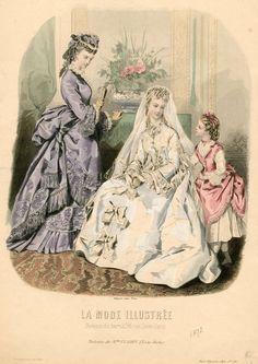 La Mode Illustrée 1872