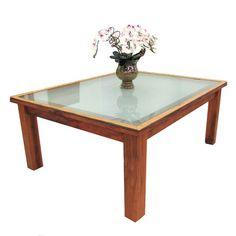 MS09 mesa de jantar rústica madeira de demolição peroba rosa