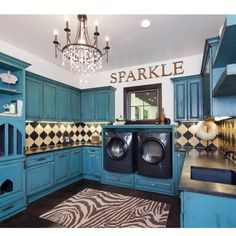 Laundry room ideas by alejandra....DANG!