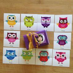 """""""Pia Polya İki Parçalı Baykuş Görsellerini Tamamlama Kartları""""  18 ay ve 28 ay yaş arası çocuklar için uygundur."""
