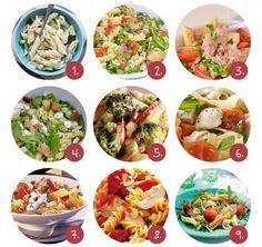 9x geslaagde pastasalade recepten