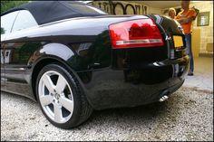 Audi A4 Cabriolet b7 Black - Blackhole'd - Detailing World