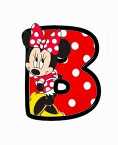 Oh my Alfabetos!: Original alfabeto de Minnie.