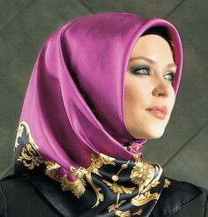 Armine Silk Hijab Fall Winter 2014-2015 #5297 | Modefa USA