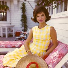 Jaqueline Kennedy, just one of the top 3 fashion icons of our time