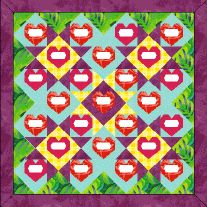 This little heart quilt block is great for all kinds of projects with signatures or quotations, not just Valentine's Day. Sew a single block as a very personal present for a dear friend, or a remembrance quilt documenting a special event, such as a family reunion or wedding shower. Use a water-erase marker to divide a…