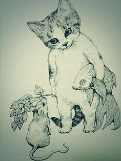 Mushrooms, Kittens and Tentacles | The Bizarre World of Yuko Higuchi
