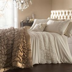 Cream 'Monroe' bed linen - Duvet covers & pillow cases - Bedding - Home & furniture -