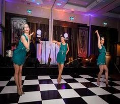 Book our Great Gatsby-themed dancers for hire. Hire our 1920's-themed dancers for corporate functions in the UK & London.