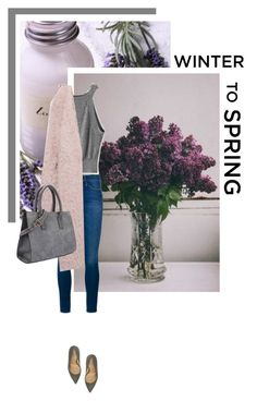 """Winter to spring"" by s-thinks ❤ liked on Polyvore featuring Frame Denim and Armani Collezioni"
