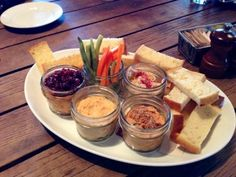 Spreads in a Jar at Empire State South in Atlanta