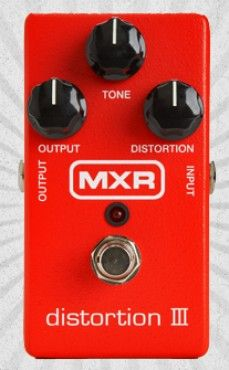 MXR Distortion III http://www.area22guitars.com/pedals/dunlop/mxr-carbon-copy-delay-pedal-285.html