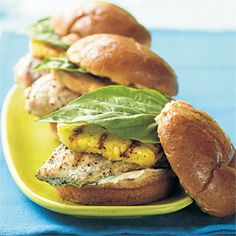 chicken pineapple sandwiches