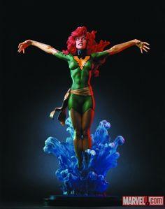 The Phoenix-Member of Marvel Comics The Uncanny X-MEN.  (BOWEN)