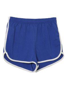 Vintage Happy Legs 1970s Shorts - 70s -Happy Legs- Womens blue ...