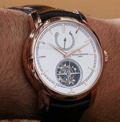 Vacheron Constantin Patrimony Traditionnelle 14 Day Tourbillon Watch Hands-On: Open and Closed