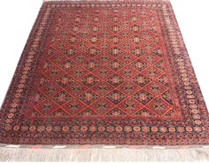 Traditional red rug 6x9 #interiordesign #rugs