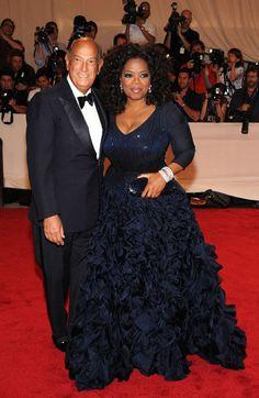 Oprah in Oscar de la Renta <3