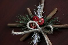 Craft rustic wreath.