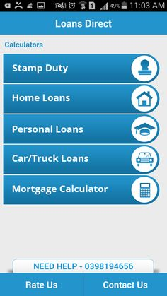 All-in-One smartphone app offers and to carry out financial calculations with ease. Property Buyers, Property Investor, First Home Buyers Grant, Interest Only Loan, Loans Calculator, Loans Direct, Stamp Duty, Car Loans, The Borrowers