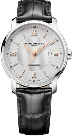 Baume et Mercier Watch Classima #bezel-fixed #bracelet-strap-alligator #brand-baume-et-mercier #case-depth-8-6mm #case-material-steel #case-width-42mm #date-yes #delivery-timescale-call-us #description-done #dial-colour-silver #gender-mens #luxury #movement-automatic #official-stockist-for-baume-et-mercier-watches #packaging-baume-et-mercier-watch-packaging #style-dress #subcat-classima #supplier-model-no-m0a10075 #warranty-baume-et-mercier-official-2-year-guarantee #water-resistant-50m