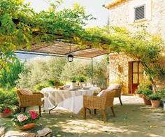 Image result for backyard pergola greenery