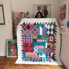 Siobhan Rogers quilt pattern in the August 2015 Better Homes & Gardens Magazine (Australia)