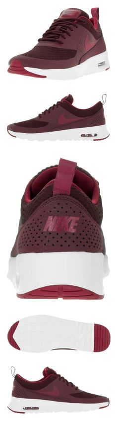 $100 - Nike Women's Air Max Thea TXT Night Maroon/Nbl Red/Smmt Wht Running Shoe 9 Women US #shoes #nike #2011