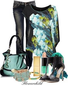 """In my Closet"" by flowerchild805 ❤ liked on Polyvore"
