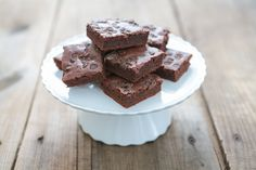For the Brownies: 6 oz Dark Chocolate 8 oz Unsalted Butter or Palm Shortening 1 tsp Vanilla Extract 4 Eggs, large 1/2 cup Chestnut Flour, or Almond Flour 1/2 tsp Sea Salt 1 tsp Baking Powder 3/4 cup Coconut Sugar