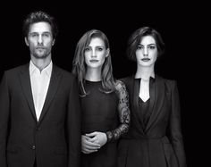 Matthew McConaughey, Jessica Chastain and Anne Hathaway- The Cast of Interstellar