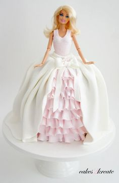 Love This Barbie Cake Party Ideas Pinterest Cake