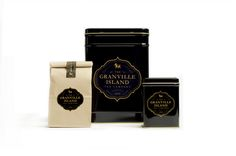 The Granville Island #Tea Co.#Packaging #tin