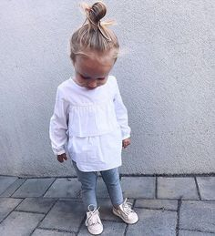 Pin by isida on fifi So Cute Baby, Baby Kind, Cute Little Girls, Cute Baby Clothes, My Baby Girl, Cute Kids, Cute Babies, Little Girl Fashion, Toddler Fashion