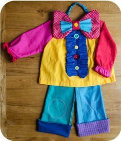 patron déguisement de clown