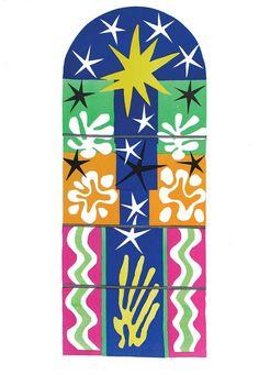 "Matisse ""Nuit de Noël"" Lithograph"