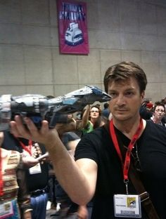 Nathan Fillion and Serenity