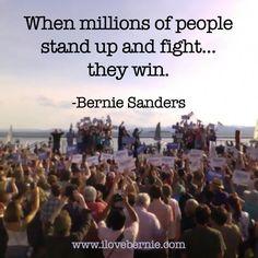 I love Bernie! - Yes! Bernie Sanders for President 2016