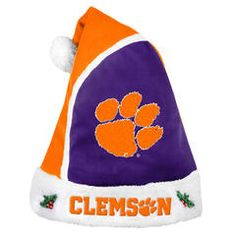 NCAA 2015 Clemson University Tigers Santa Hat - Kmart
